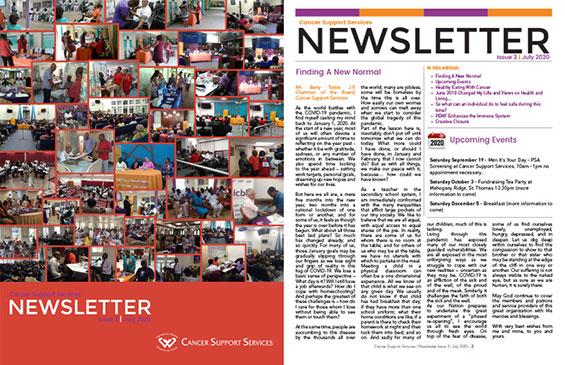Cancer Support Services Newsletter