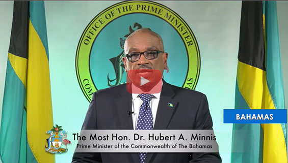 Hon. Dr. Hubert A Minnis, Prime Minister Of The Bahamas