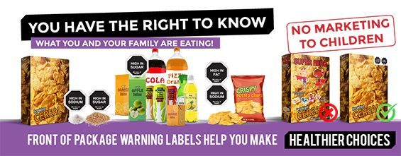 HCC's Work on Front of Packaging Nutrition Warning Labelling