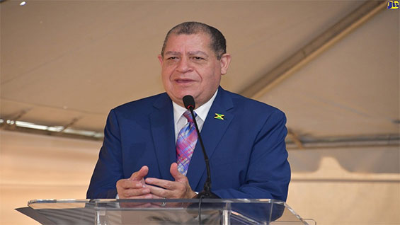 Industry, Commerce, Agriculture and Fisheries Minister, Audley Shaw