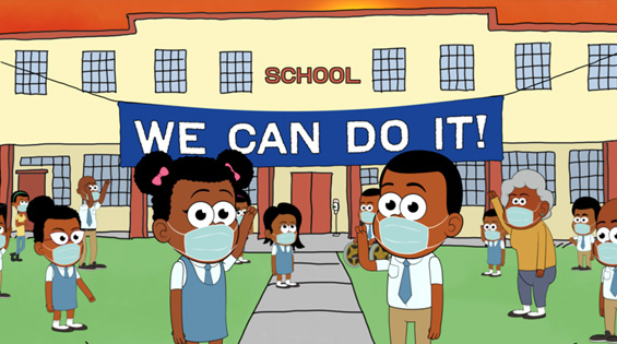 Campaign: Stop Coronavirus at School Today
