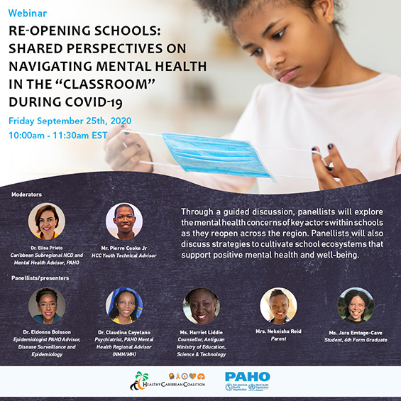 Webinar Recording:Re-Opening Schools: Shared Perspectives on Navigating Mental Health During COVID-19