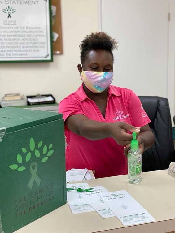Experiences of the Cancer Society of the Bahamas