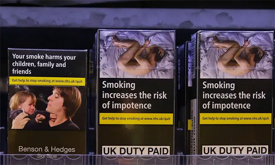 UK Tobacco Sales Fell Faster After Plain Packaging Rules Came Into Force