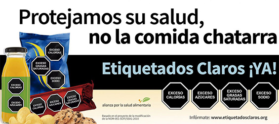 Mexico and Chile Deliver Healthy Results on Policies for Front of Package Labelling
