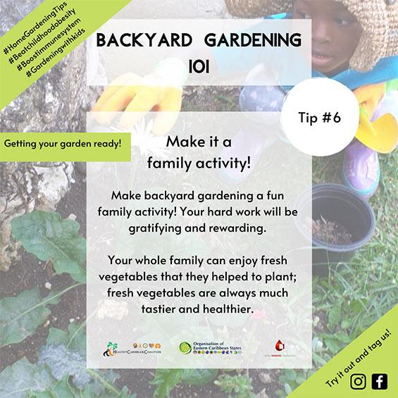 Backyard Gardening Tip #6