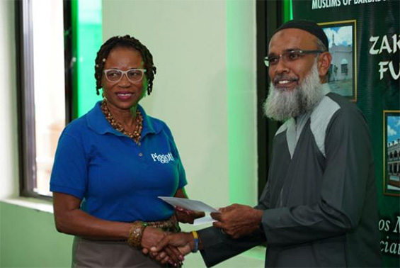Barbados Muslim Association Makes Donation to Ten Schools