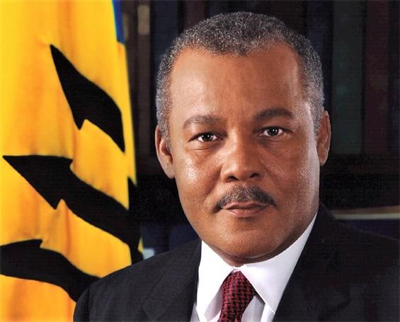 Former Prime Minister of Barbados, the Right Honourable Owen Seymour Arthur