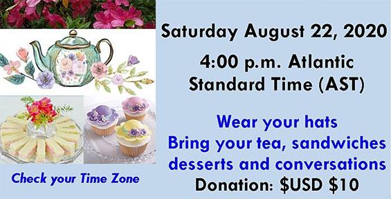 Bovell Cancer Diabetes Foundation Virtual Tea-Party