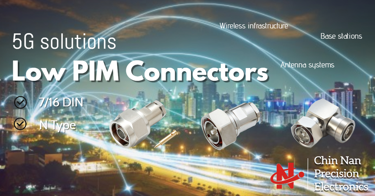 5G solutions- Low PIM connectors