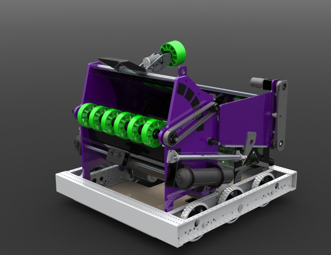 Rendering of competition robot