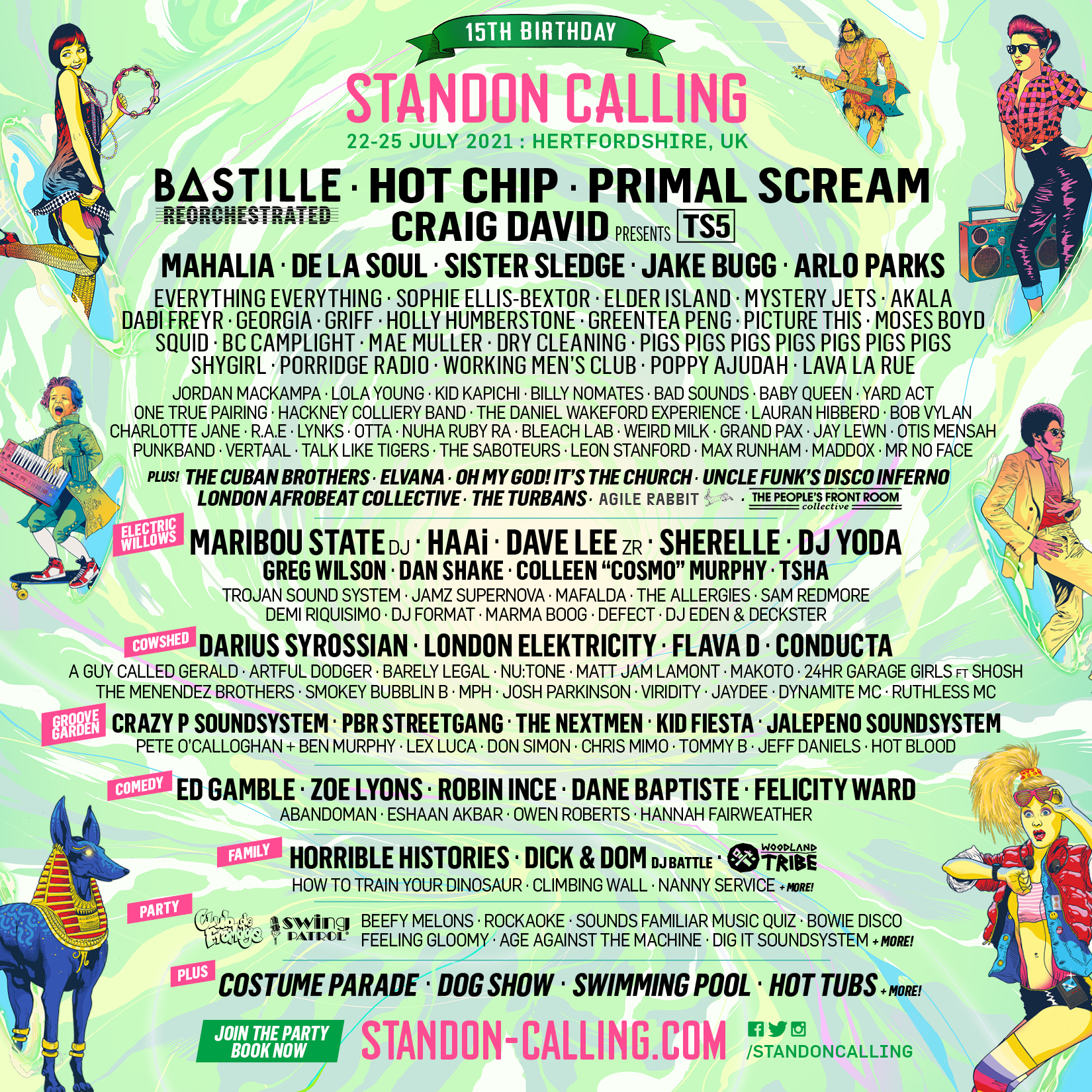 Standon Calling: Bastille ReOrchestrated, Arlo Parks, Robin Ince Just Announced 2
