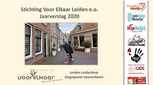 Jaarverslag 2020 Stichting Voor Elkaar Leiden e.o.