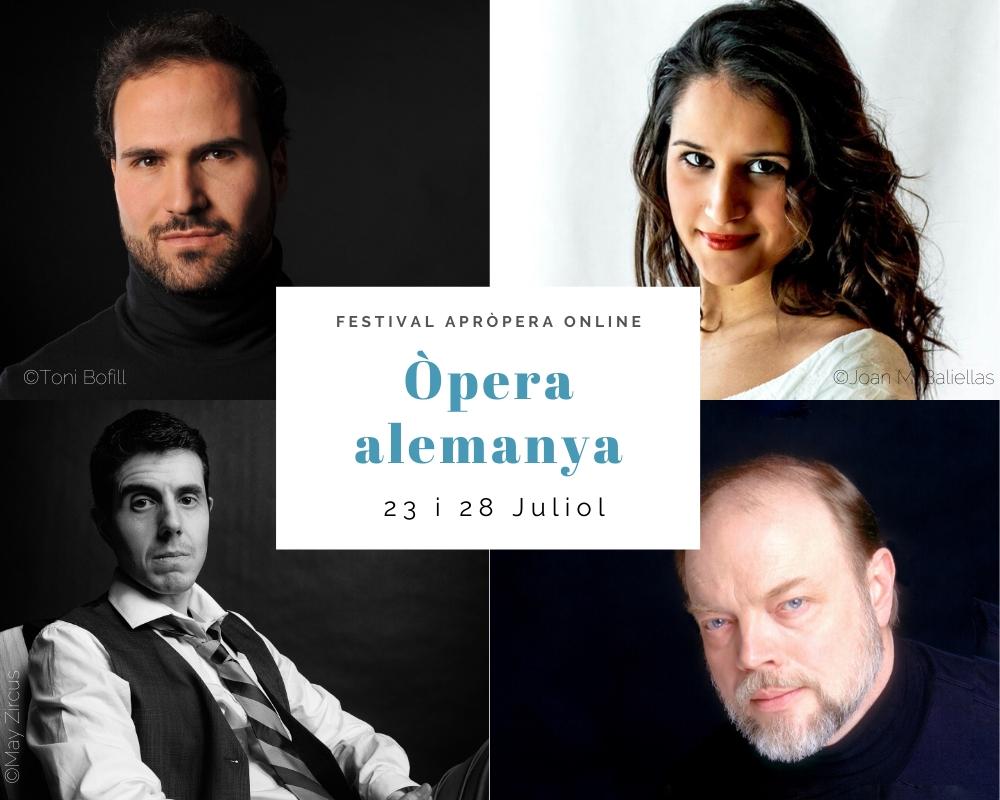 Cartell concert òpera alemanya marc sala tenor sara blanch soprano joan martin royo bariton eric halfvarson baix apropera