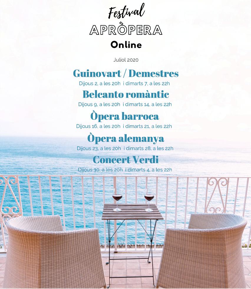 Cartell Festival AprÒpera Online