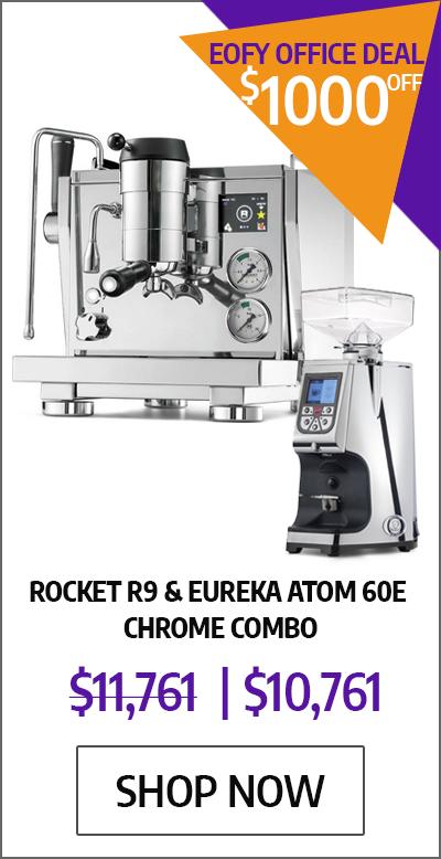 Rocket R9 & Eureka Atom 60E Chrome Combo - EOFYS Office Deal