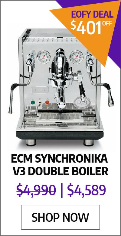 ECM Synchronika V3 Double Boiler