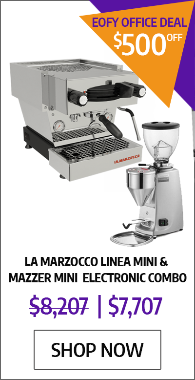 La Marzocco Linea Mini & Mazzer Mini Electronic Combo - EOFYS Office Deal