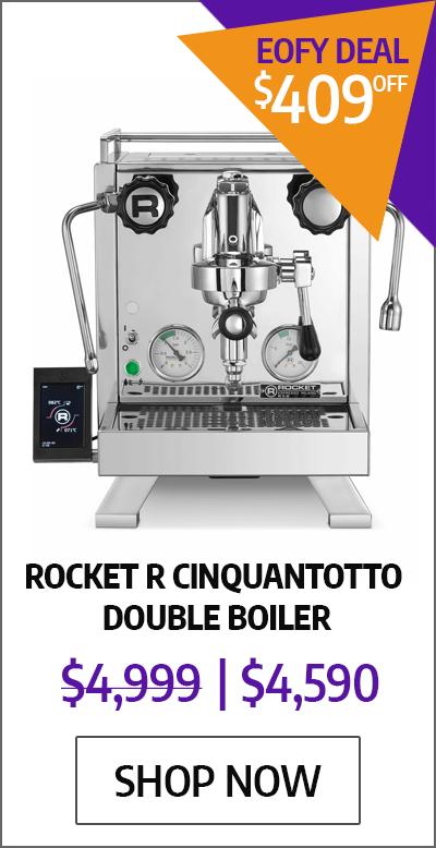 Rocket R Cinquantotto Double Boiler