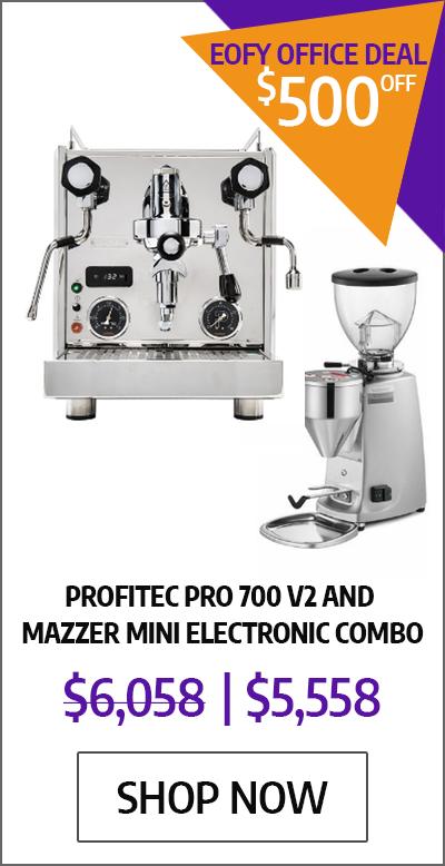 Profitec Pro 700 V2 and Mazzer Mini Electronic Combo - EOFYS Office Deal