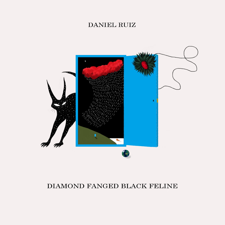Daniel Ruiz - Diamond fanged black feline - CD