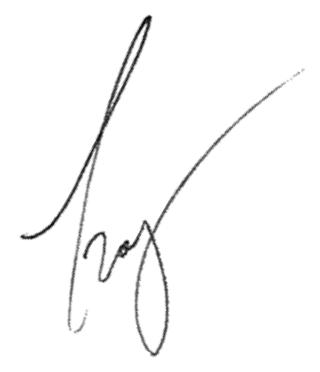 Troy DeSouza's signature