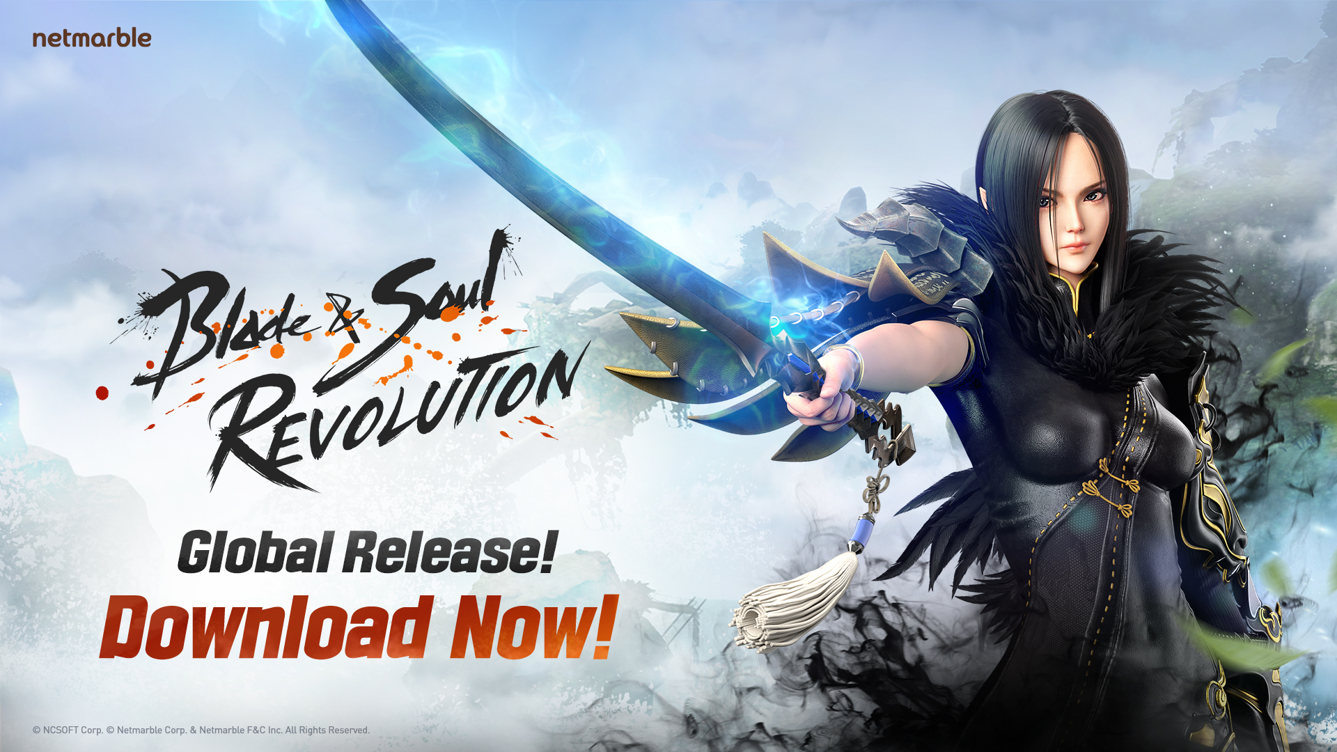 El MMO Blade & Soul Revolution ya está disponible en dispositivos móviles