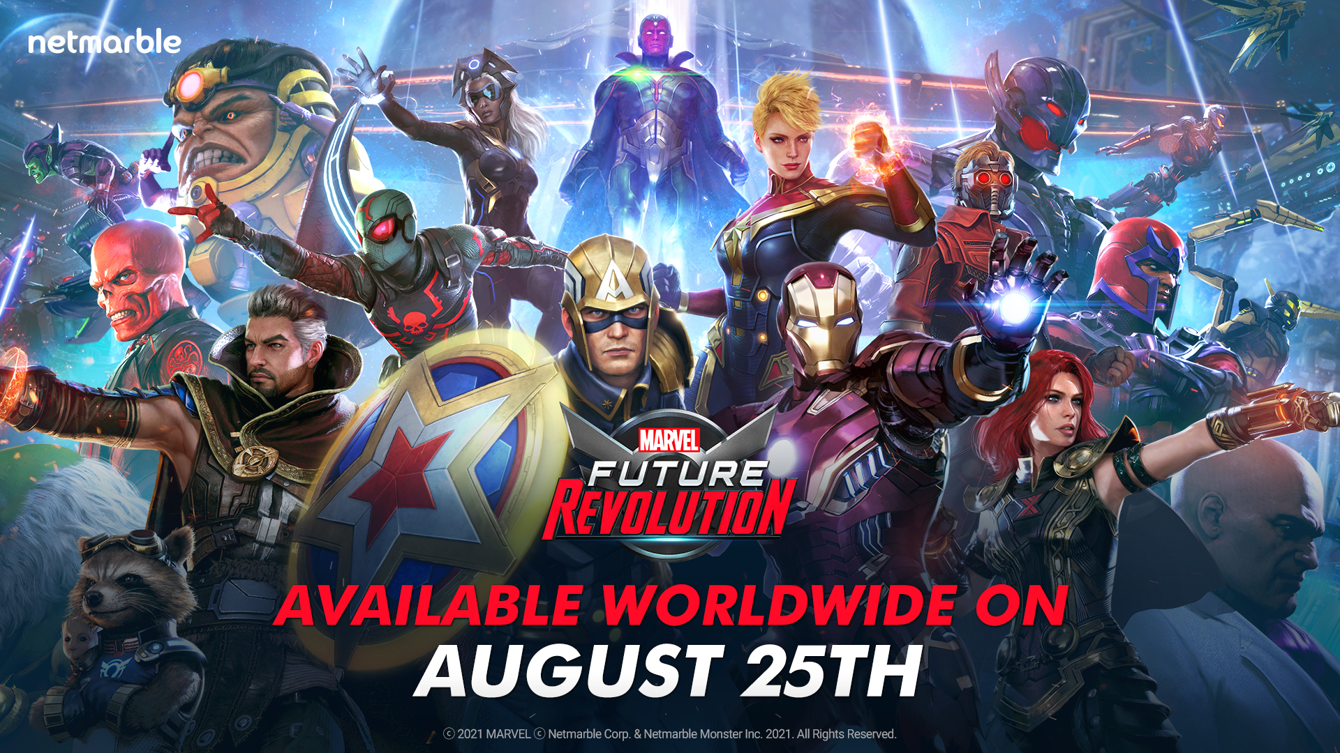 MARVEL Future Revolution de Netmarble se lanzará el 25 de agosto
