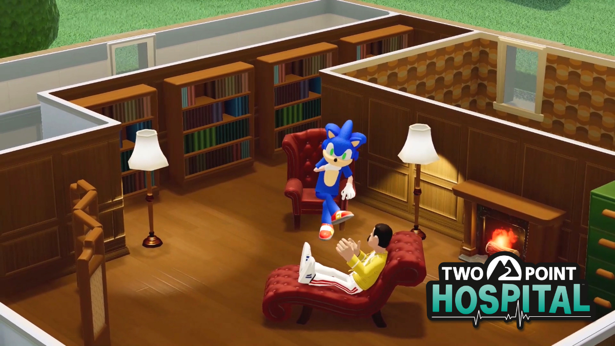 El crossover definitivo: Sonic se une a Two Point Hospital