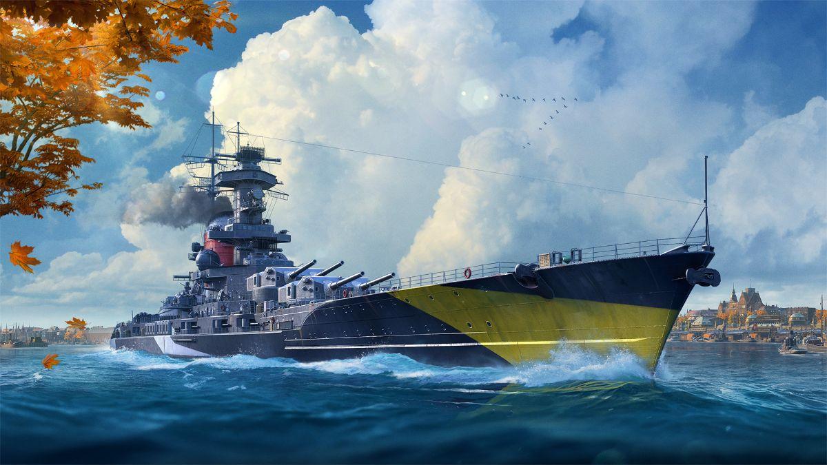 World of Warships lanza los Acorazados Alemanes en acceso anticipado y se prepara para Halloween
