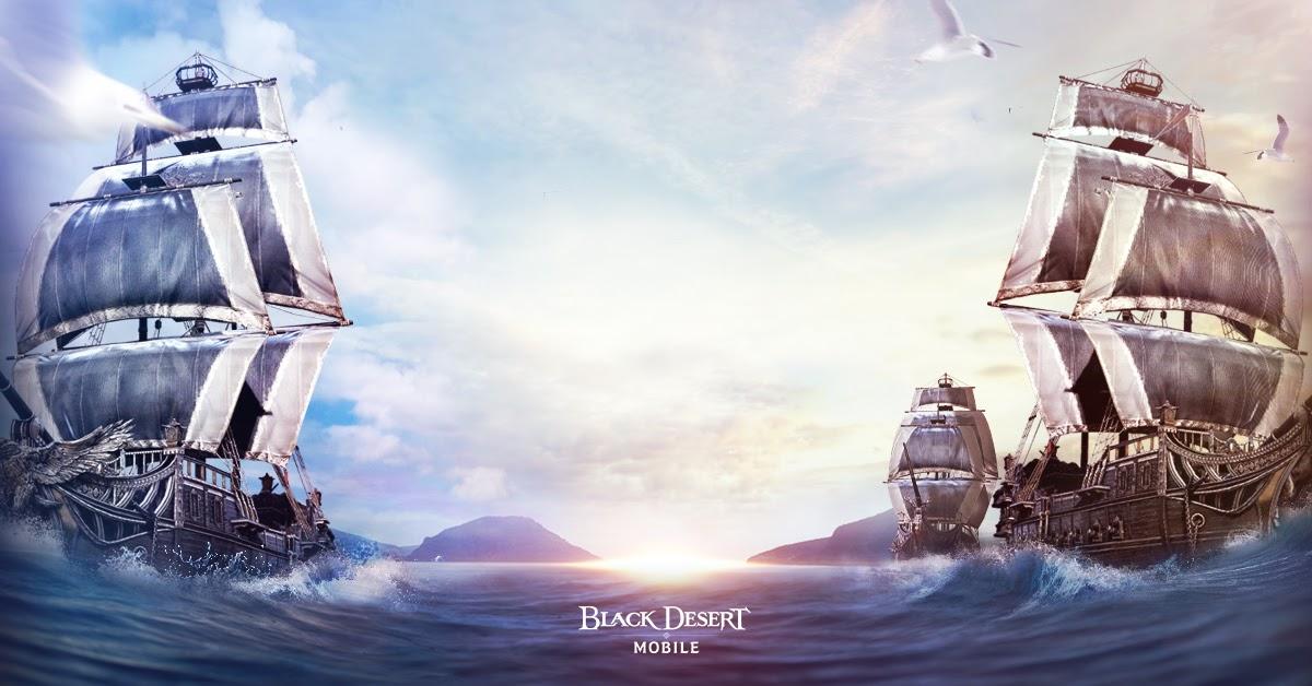 Black Desert Mobile recibe el Gran Océano en su nueva expansión.