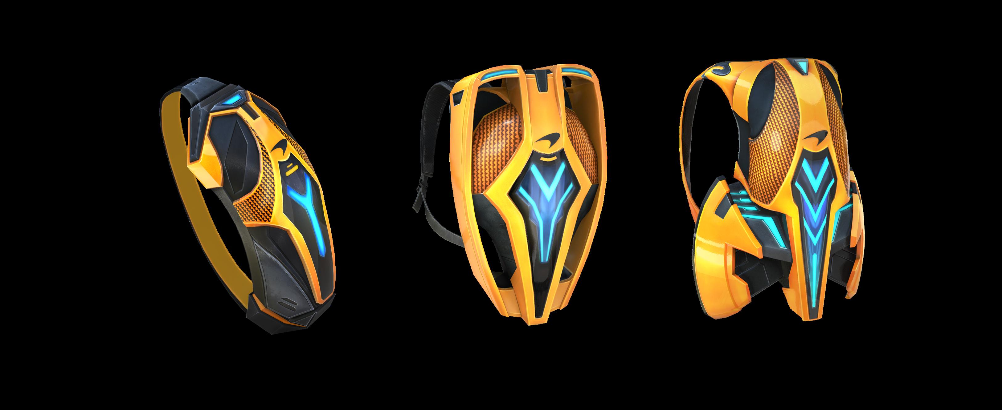 Skins das Mochilas McLaren