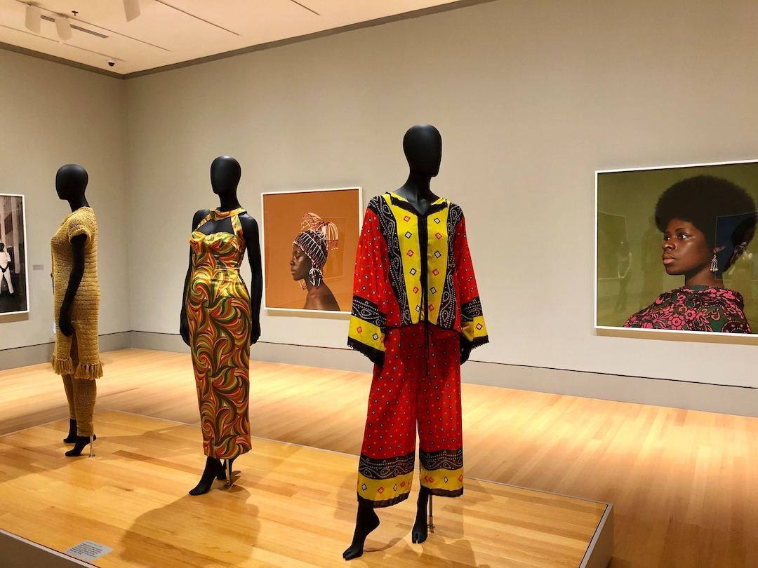 Black Is Beautiful exhibition open now through Sept. 6 at the Columbia Museum of Art in Columbia, SC