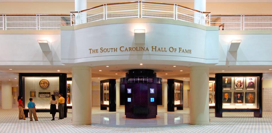 South Carolina Hall of Fame builing