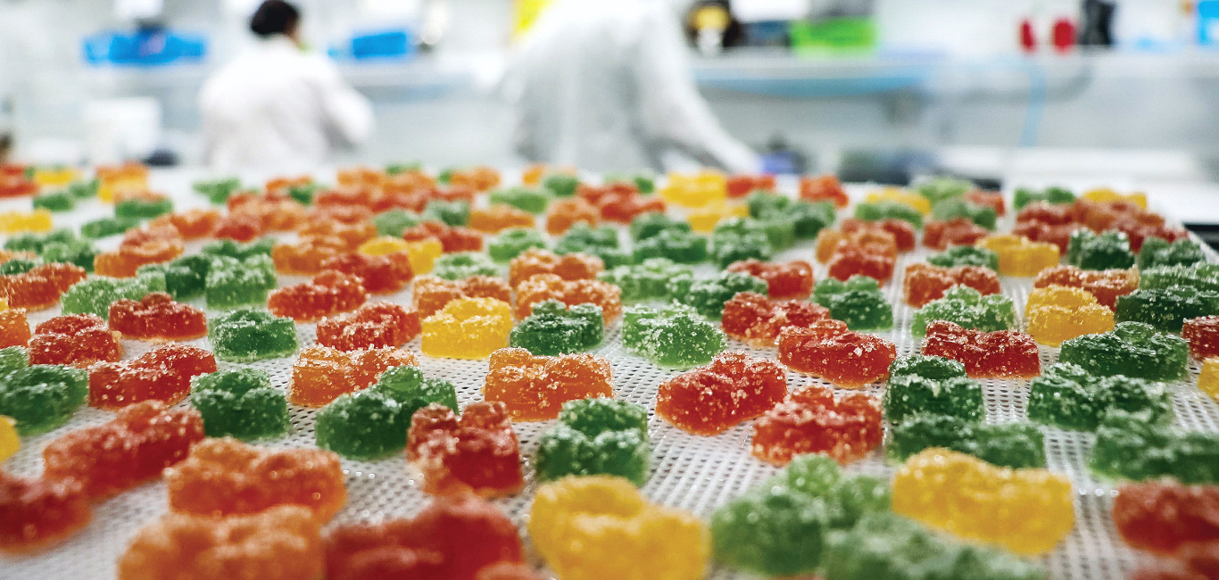 Franny's Manufacturing CBD Gummies | Photo provided