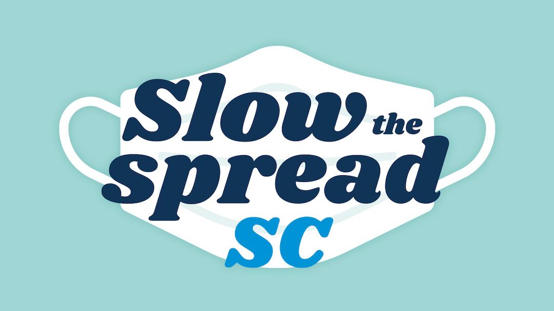 Slow the Spread SC logo