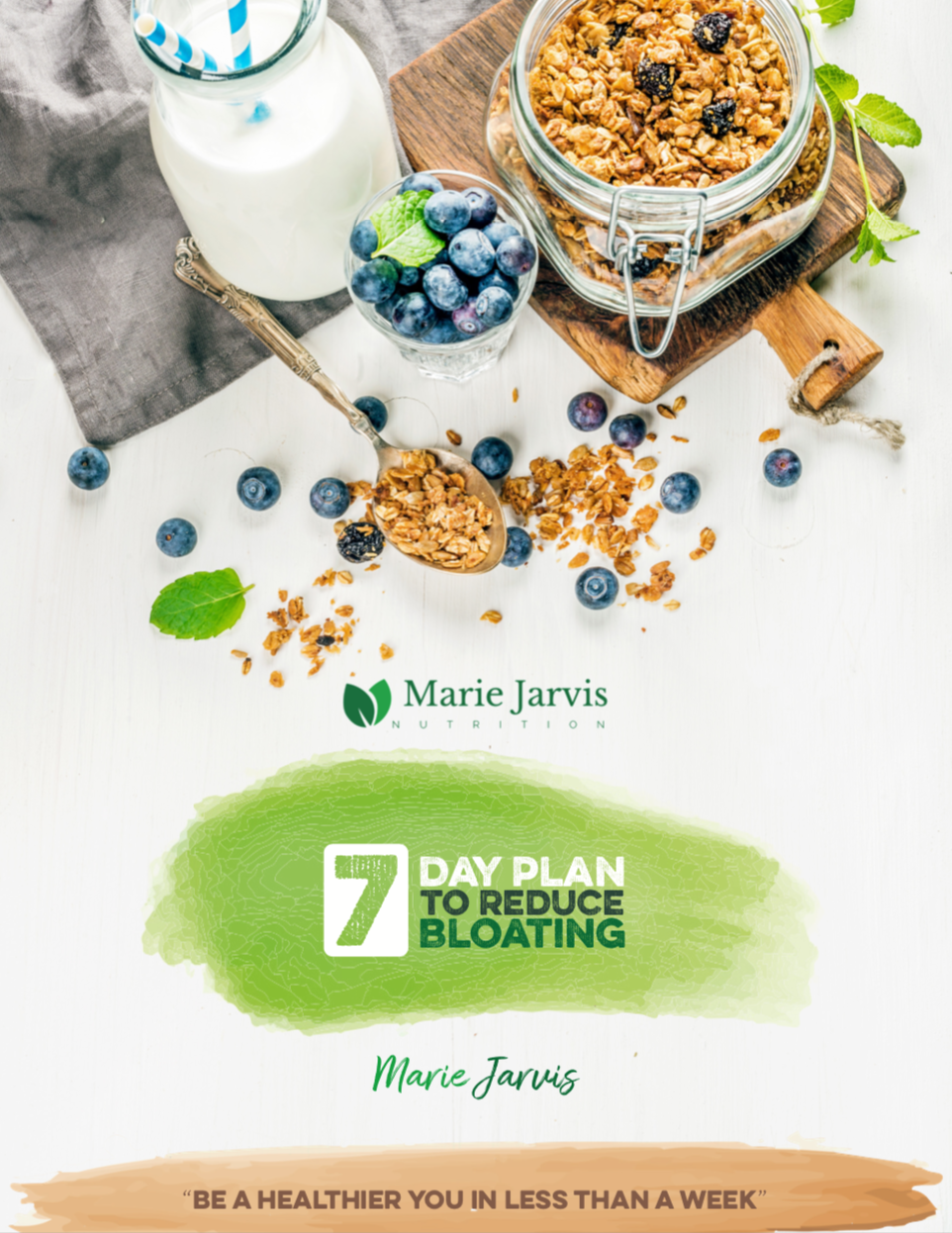 Cover Photo for 7 Day Reduce the Bloat Nutrition Plan