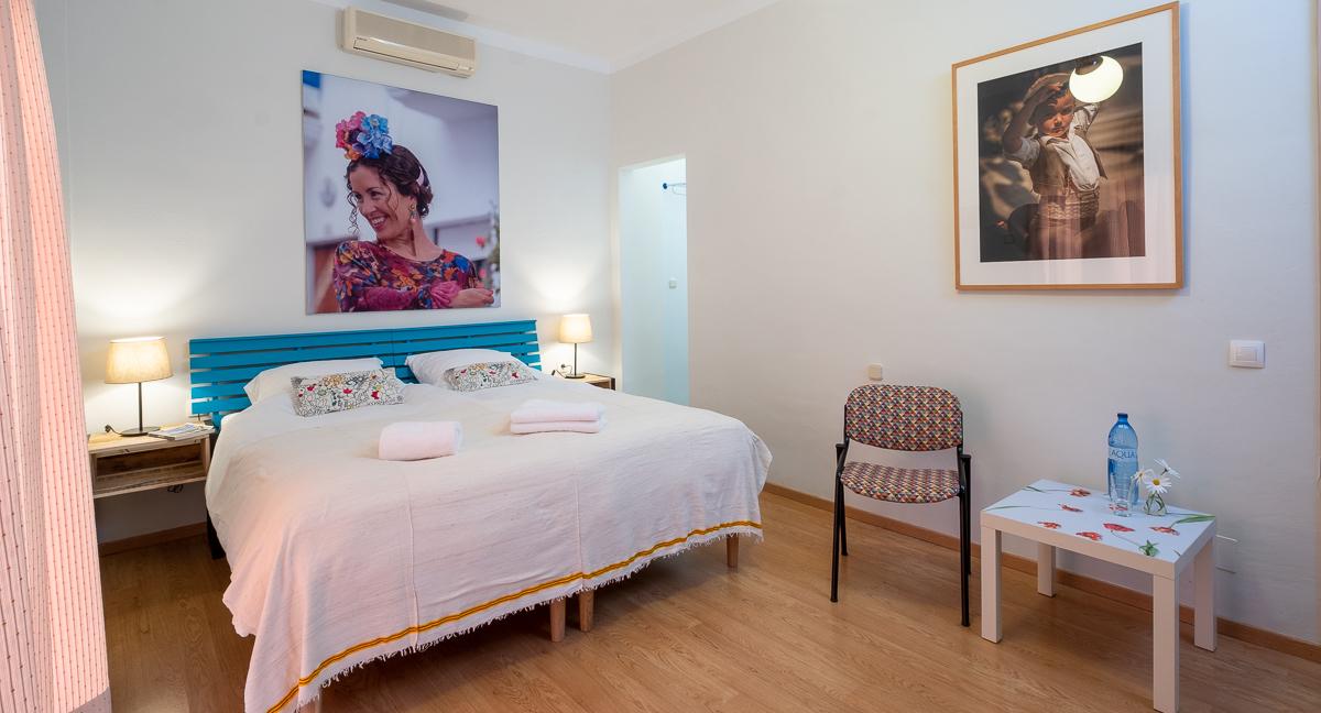 luxe slaapkamer in bed and breakfast