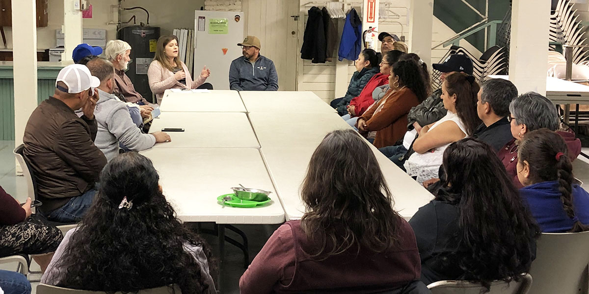 White Salmon residents organize against evictions with the support of environmental and social justice organization Comunidades