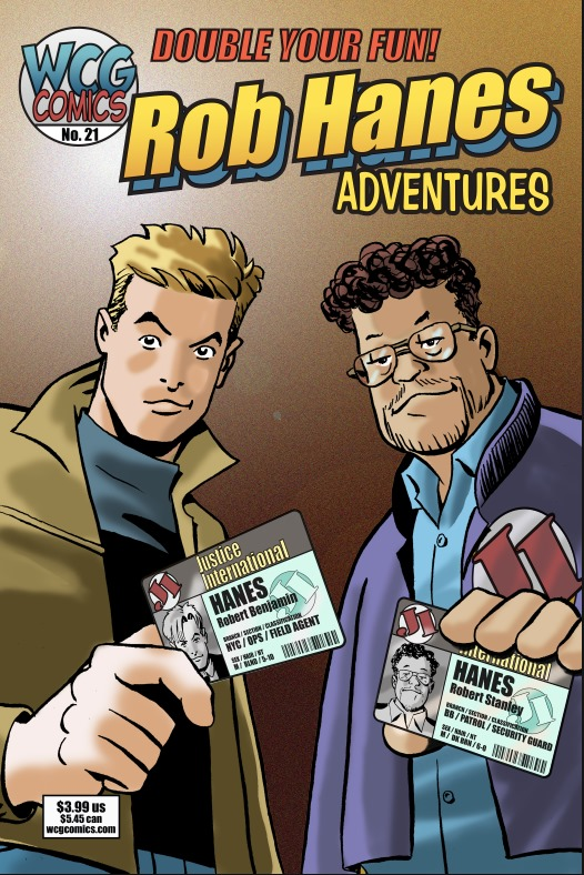 Cover to Rob Hanes Adventures #21