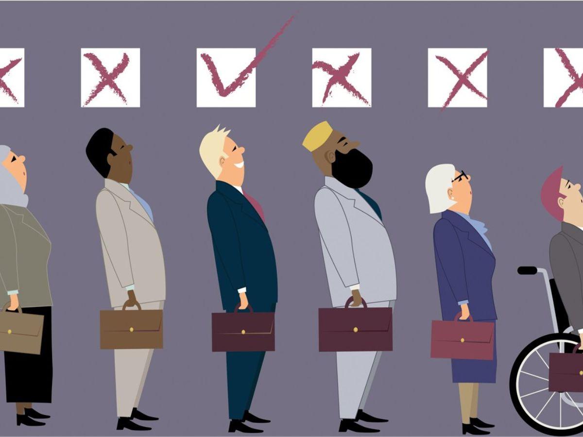 Illustration of discrimination