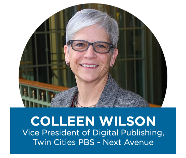 Colleen Wilson, Vice President of Digital Publishing, Twin Cities PBS