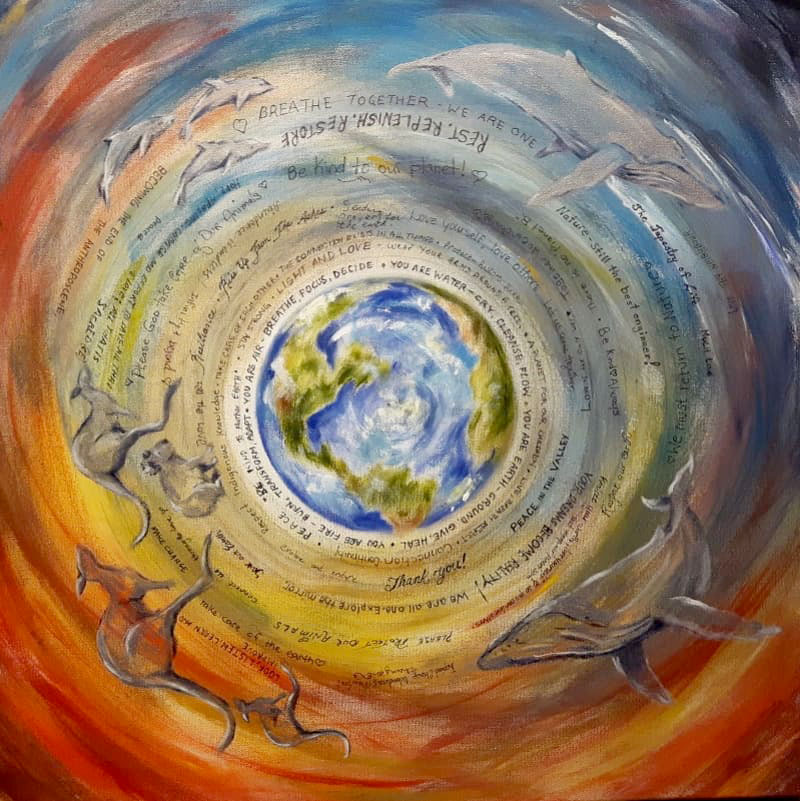 Prayers for the Planet by CJ Shelton