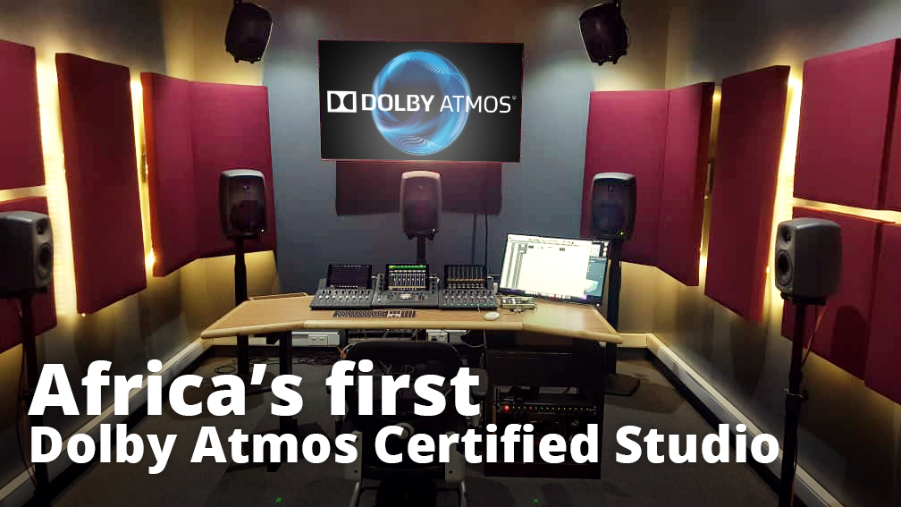 Africa's first Dolby Atmos Certified Studio