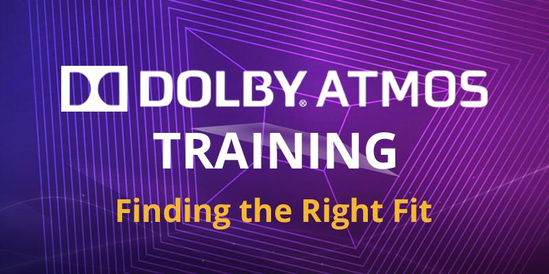 Dolby Atmos Training