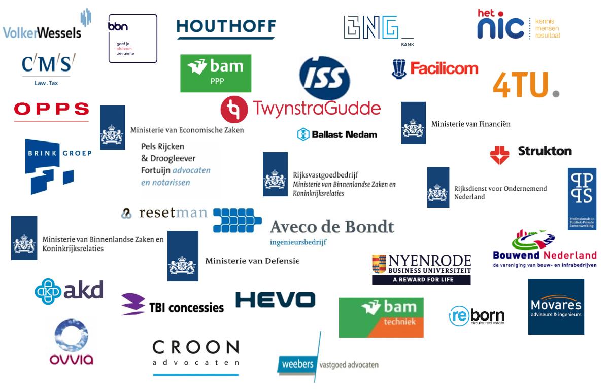 Logo's Partners PPS Netwerk Nederland