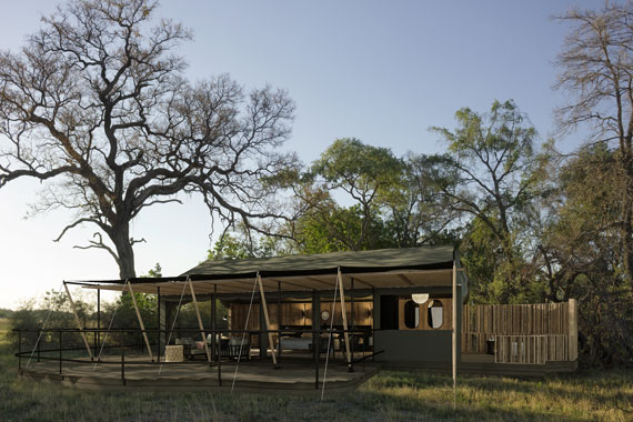 The brand new Kiri Camp in Botswana