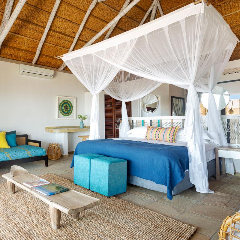 Beach Villa interior at Marlin Beach
