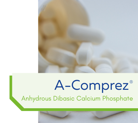 A-Comprez: Anhydrous Dibasic Calcium Phosphate