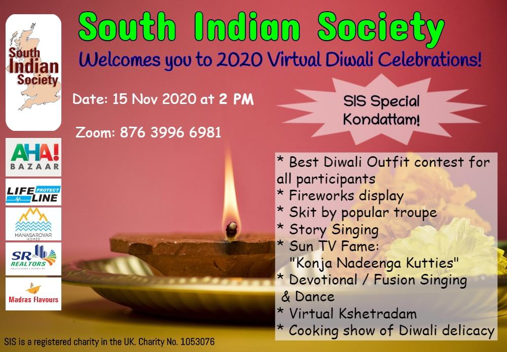 SIS Virtual Diwali celebrations 2020